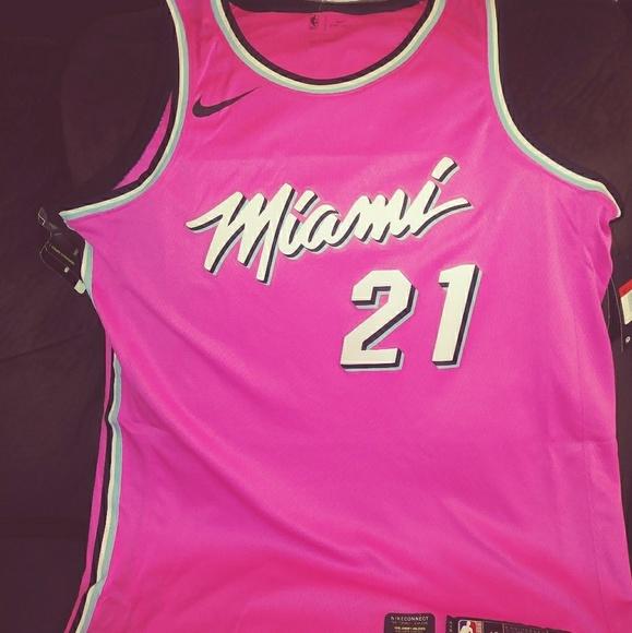 los angeles 7fefb 642ce Miami Heat Jersey
